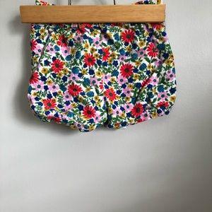 12-18 months Baby Boden Girls Floral Shorts